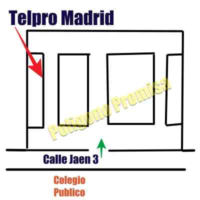 Donde esta Telpro Madrid