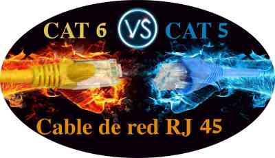diferencias entre cable cat5 y cat6