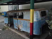 Bob's first vehicle