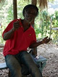 Fyah sharing his beliefs