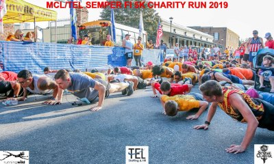 2019-TEL-MCL-Semper-Fi-5k-Charity-Run-for-the-Children-Fun-Run-Pensacola-FL_Prerace-pushups-down