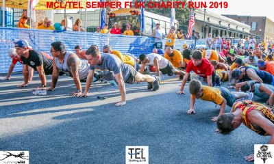 2019-TEL-MCL-Semper-Fi-5k-Charity-Run-for-the-Children-Fun-Run-Pensacola-FL_Prerace-pushups-up