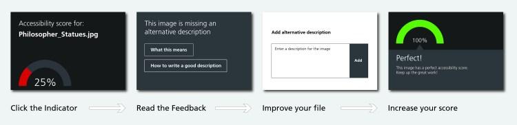 Image of Blackboard Ally feedback