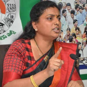 ycp mla rk roja comments against assembly speaker