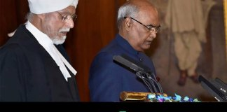 ramnath kovind takes oath as india 14th president