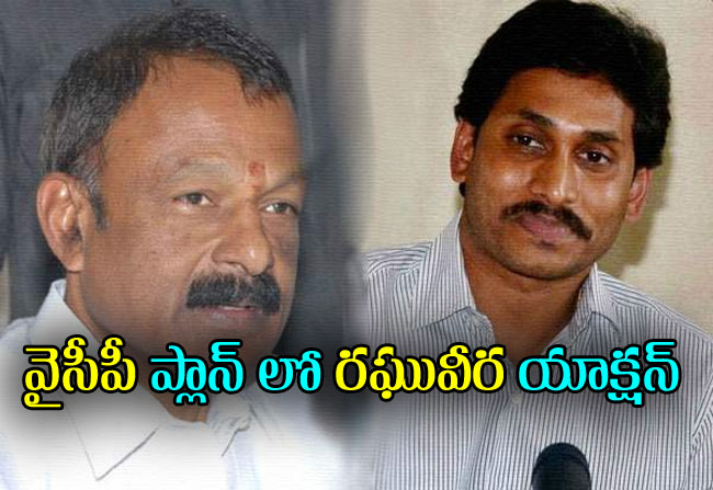 Raghuveera reddy action in jagan direction for Nandyal Bypoll elections