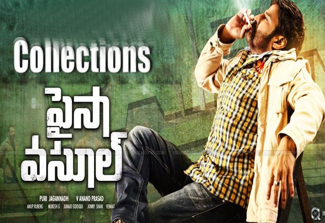 Record Collections For Balayya Paisa Vasool In Ceded Area
