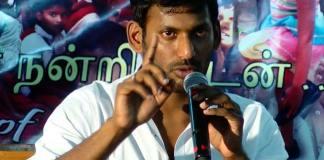 tamil hero vishal political entry