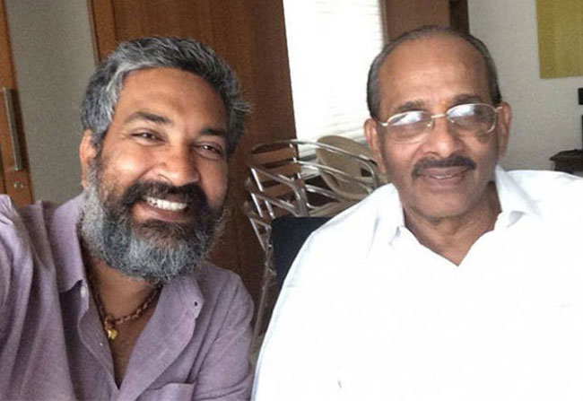 Rajamouli and vijayendra prasad