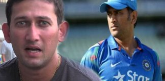 indian fans support to Ms Dhoni and Fires on Ajit Agarkar