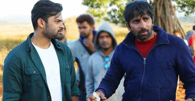 Sai Dharam Tej Movie with Gopichand Malineni