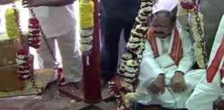 venkaiah naidu visits Medaram Sammakka Saralamma Jatara