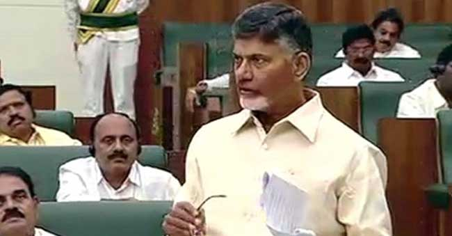 Chandrababu comments on Central govt over AP Budget