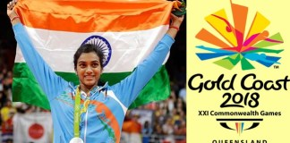 PV Sindhu Representing India Team In Common Wealth Games , Australia