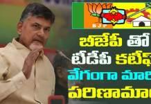 chandrababu breaks BJP and TDP alliance