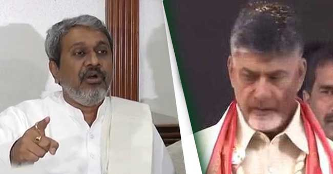Chalasani Srinivas comments on Chandrababu Dharma Porata Deeksha
