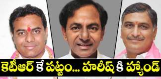 KTR may become as TRS Party working president