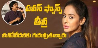 pawan kalyan fans fires on sri reddy