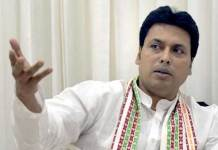 Biplab Deb Kumar again makes controversial Comments