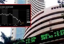 Stock Market down again due to Karnataka election results