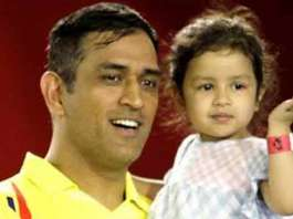 Dhoni Daughter Ziva birthday wishes