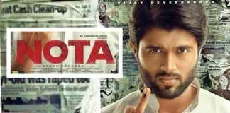 Vijay Devarakonda plays Chief Minister role in Nota Movie