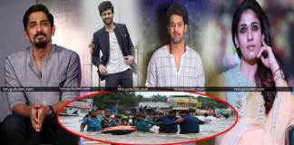 Film stars help for Kerala