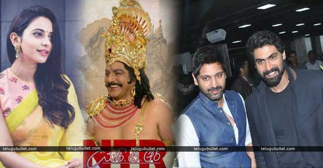 Rana sumanth and rakul preet confirmed for NTR Biopic