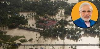 PM Modi Announces Rs 500 Crore as Interim Relief For Kerala Floods