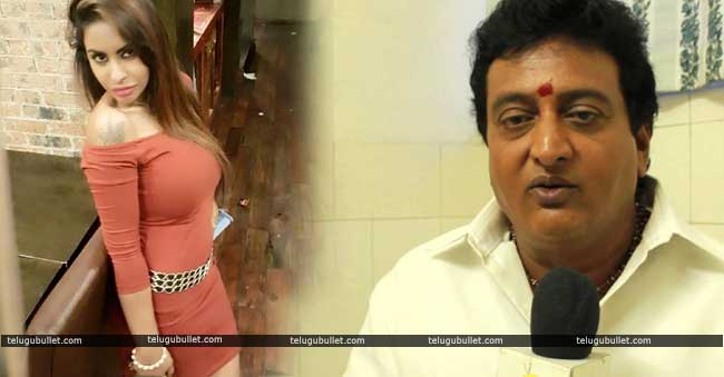 sri reddy responds on prudhvi raj comments