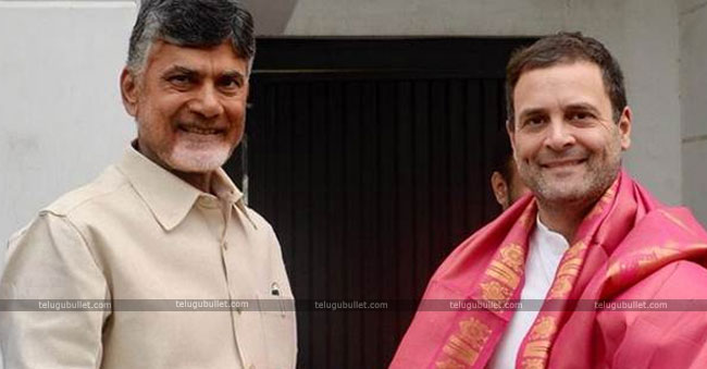 CBN Meets Rahul For Naidu Front