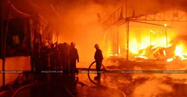 There Are Many Suspicions About Fire In Numaish Exhibition
