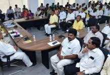 kaapu leaders absent for tdp meeting
