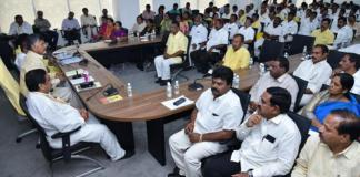 kaapu leaders absent for tdp meeting