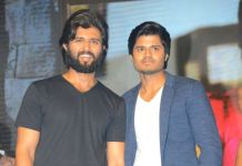vijay devarakonda complements on brother anand movie dorasani