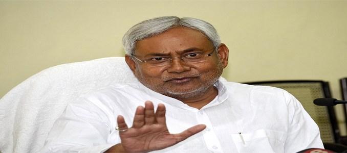 nitish kumar will not support bjp in triple takalh