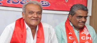 left parties in andhrapradesh telangana