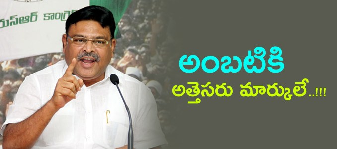 ambati rambabu-ysr congress party