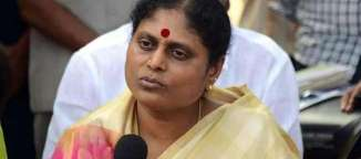 ys vijayamma comments on chandrababu