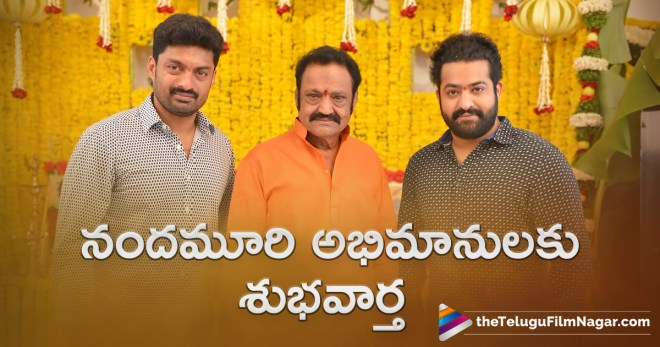 Balakrishna announces good news to Nandamuri fans, Good News for Nandamuri Fans, Latest Telugu Movies News, Nandamuri Fans enjoy seeing their favorite actors both in film, Nandamuri fans in suspense, Telugu Film News 2018, Telugu Filmnagar, Tollywood Movie Updates, ప్రేక్షకులకు నందమూరి అభిమానులకు శుభవార్త