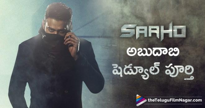 Sahoo Third Schedule Details, Sahoo Movie Next Schedule in Hyderabad, Sahoo started next schedule, Sahoo Movie Update, Sahoo Shooting Schedule Revealed, Prabhas Saahoo Movie, Telugu FilmNagar, Latest Telugu Movie News, Tollywood Updates 2018,