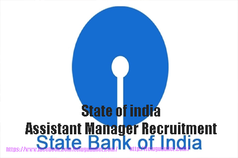 State of india Assistant Manager Recruitment