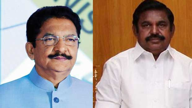 gvernor threat to pallanisamy