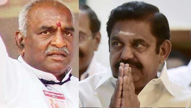 central government had an eye on palanisamy