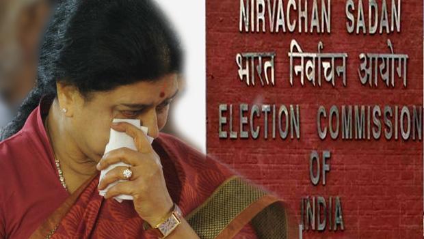 election commission send notices to sasikala so sasikala general secretary post may be gone