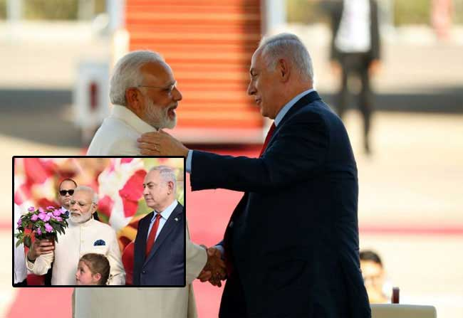 Israel Special Treatment To Modi