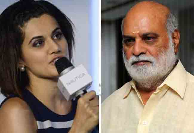 Finally, Tapsee Apologize