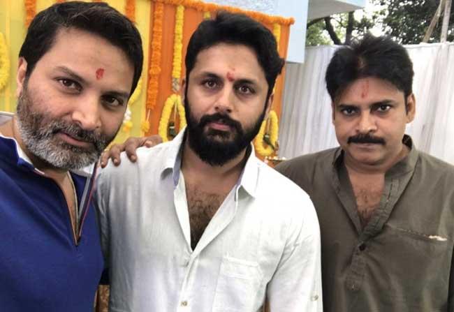 Pawan And Trivikram Produces Nitin Next Movie