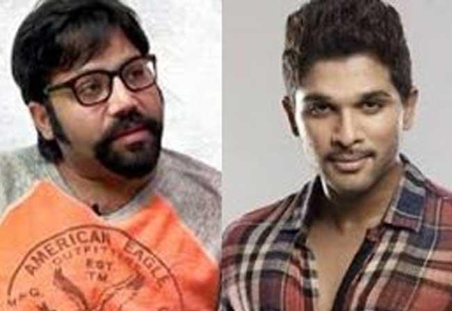 Sundeep Reddy Movie With Allu Arjun