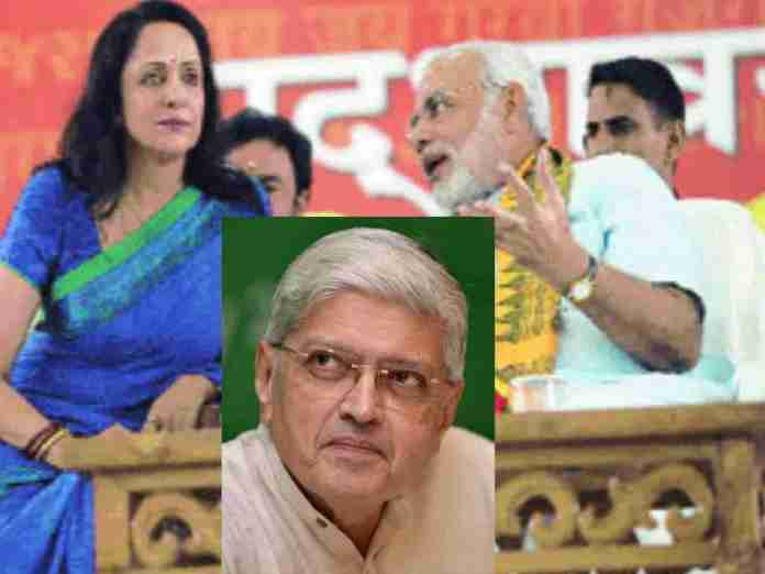 Hema Malini Shocked Media